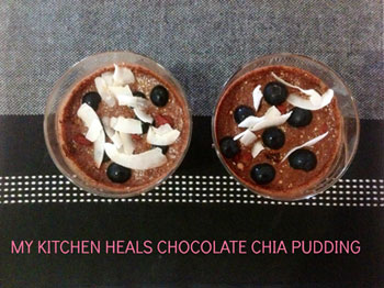 Supercharged Choc Chia Pudding!