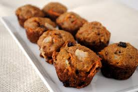COCONUT, CARROT AND APPLE MUFFINS