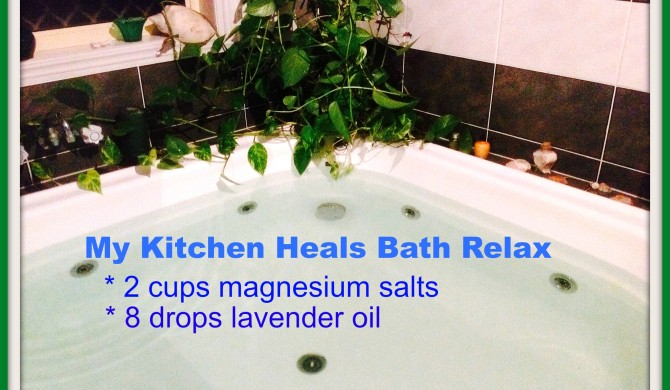 THE WONDERS OF MAGNESIUM AND EPSOM SALTS!