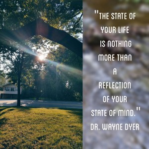 the state of your life reflection of mind