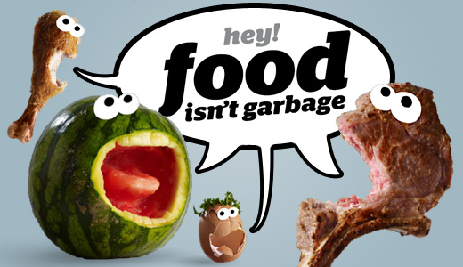YOUR TRASH CAN EATS MORE NUTRITIOUS FOOD THAN YOU!